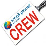 Small Planet logo Crew Tag